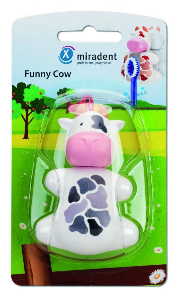 Гигиенические футляры для зубных щёток с дверками-защёлками Funny Animals, miradent®