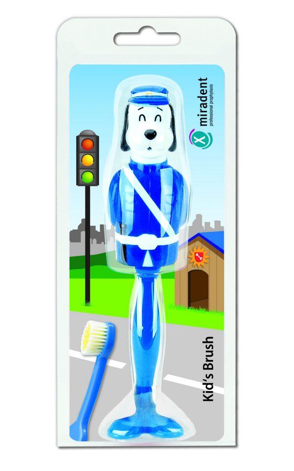 Детская зубная щетка с защитным футляром Kid's Brush, miradent®