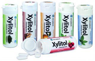 Жевательная резинка с ксилитом XYLITOL CHEWING GUM, miradent®