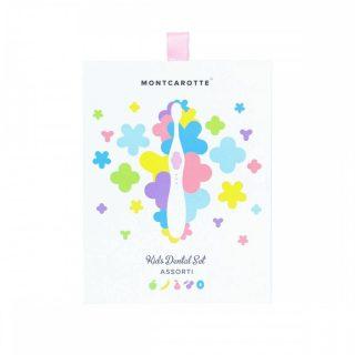 """Подарочный набор """"Розовый"""" детской косметики для зубов MontCarotte"""