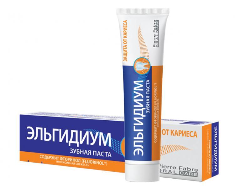 Зубная паста Эльгидиум «Защита от кариеса» (75 мл)